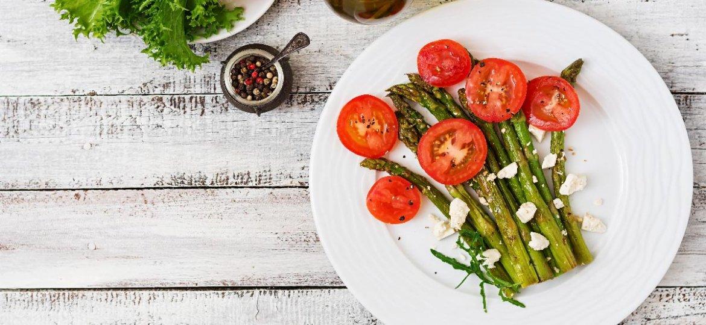 Marinierter Spargel mit Tomate und Feta Spargel Rezepte