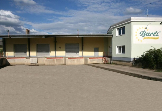 Bärli Spargel Betriebsgebäude